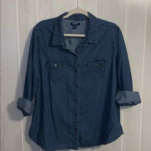 📦 Moving Sale! 📦 Old Navy chambray button down